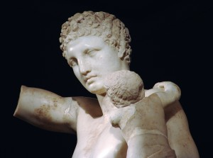 Hermes des Praxiteles_Museum Olympia