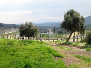Stadion im antiken Messene