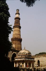Indien 8 Delhi Qutub© Wasella vhs Aalen